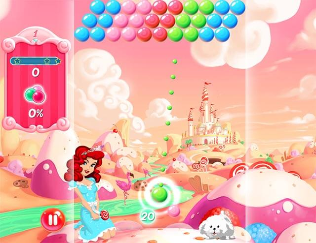 Candy Bubble Game