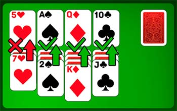 The goal of Solitaire