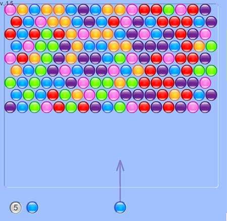 Bubble Hit screenshot