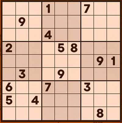 Captura de pantalla del Sudokuclassic