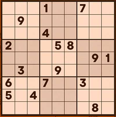Sudoku-Klassiker-Screenshot